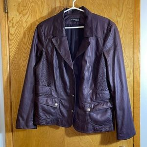 Conrad C Collection Faux Leather Jacket